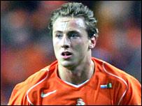 Dutch international Jan Kromkamp