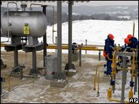 Объект украинской газовой инфраструктуры
