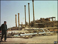 Oil refinery, Baiji, Iraq