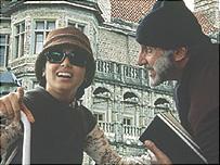 Rani Mukherjee and Amitabh Bachchan in Black