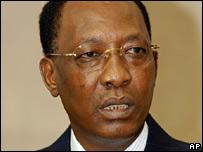 Chad's President Idriss Deby