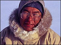Inuit hunter (picture courtesy of Glenn Morris)