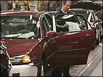 GM car plant in Canada