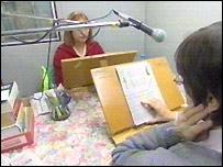 Staff at Talking Newspapers