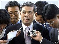 Один из руководителей проекта на пресс-конференции