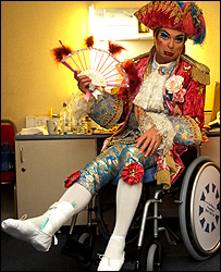 Julian Clary as Dandini - Mercury Press. Single use of image only.