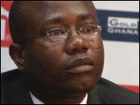 Ghana FA chairman Kwesi Nyantakyi