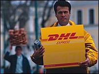 DHL employee