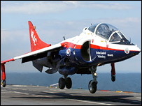 STOVL harrier jump jet