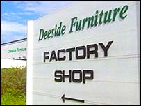 Deeside Furniture sign
