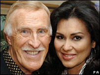 Bruce Forsyth and his wife Wilnelia