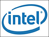 The new Intel corporate logo