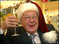 Roy Barraclough celebrates being made an MBE