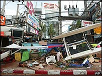 Phuket after tsunami