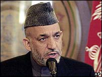 Hamid Karzai, May 2005