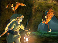 Screenshot of Legend of Zelda: Twilight Princess