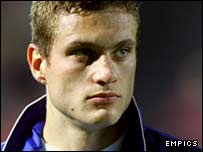 Serbia & Montenegro international defender Nemanja Vidic