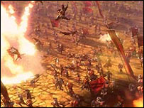 Screenshot of Heavenly Sword for PS3