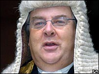Lord Falconer, the Lord Chancellor