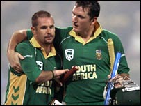 Andrew Hall and Graeme Smith