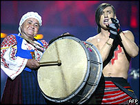 Moldova's Eurovision entry Zdob si Zdub