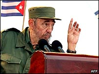 Castro during Friday's speech