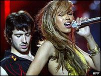 UK Eurovision entrant Javine