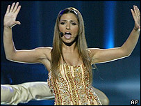 Greek entry Helena Paparizou