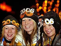 Lesley McComb, Kylie Cossels and Heather McCuthem in Edinburgh