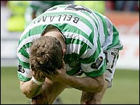 Celtic striker Craig Bellamy
