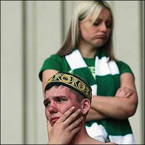 Celtic fans are devastated