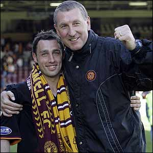 Scott McDonald and Terry Butcher