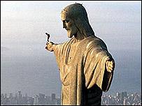 Cristo del Corcovado en Brasil