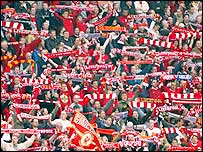 Liverpool's crowd inspire their team to victory over Chelsea in the Champions League semi-final second leg at Anfield
