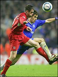 Carragher was outstanding in both legs against Chelsea