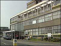 The attack happened at the Ulster Hospital