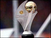 The UEFA Women's European Championship Trophy