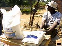 Sugar vendor