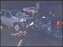 The crash between Trimsaran and Kidwelly