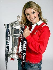 Singer Katherine Jenkins has performed at many Wales internationals