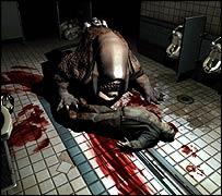 Scene from Doom 3