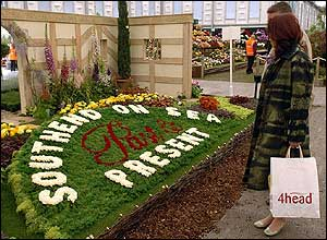 Southend-on-Sea display at Chelsea Flower Show