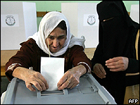 Voting in recent local elections