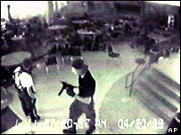 Dylan Klebold on security camera