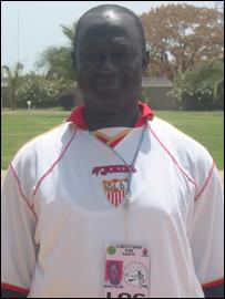 Former Gambia star Alhaji Momodu Njie - 'Biri Biri'