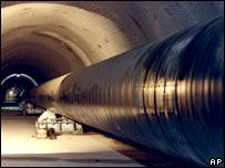 Italian gas pipeline
