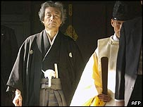 Junichiro Koizumi visits the Yasukuni shrine, 1 January 2004