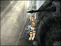 Screenshot of the updated Lara Croft