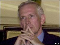 US Ambassador to Nepal, James Moriarty