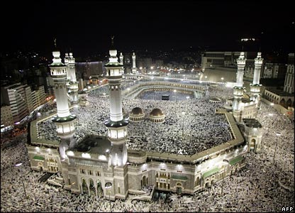 The Holy Mosque in Mecca